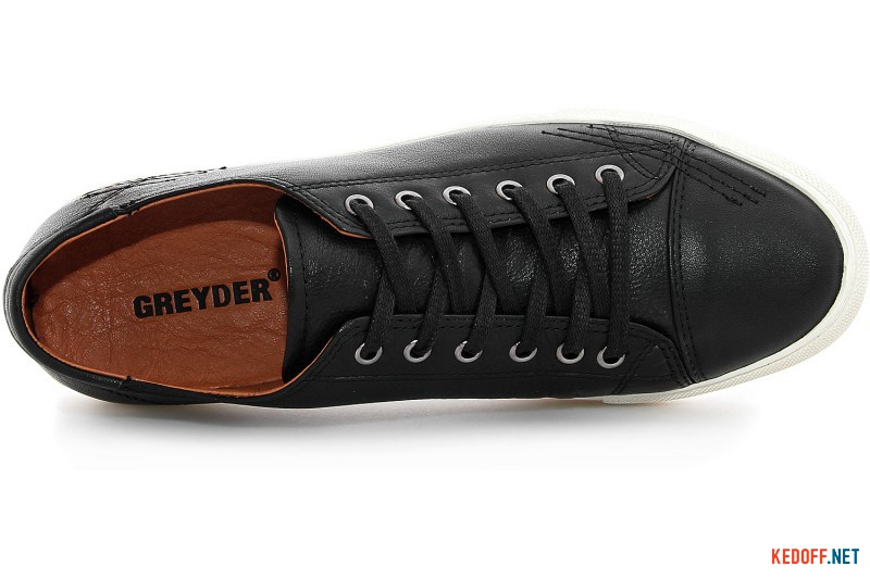 Men's shoes Greyder 60150-27 Black leather