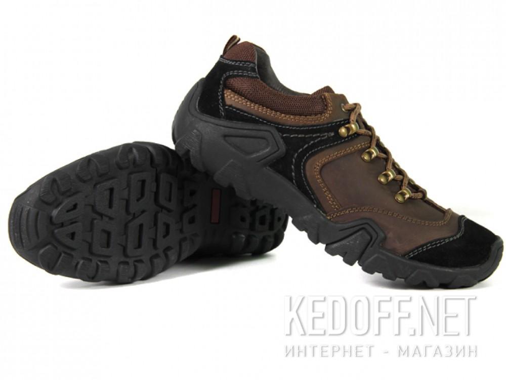 Полуботинки Forester 112-4036-02 унисекс   (коричневый/чёрный) купить Украина