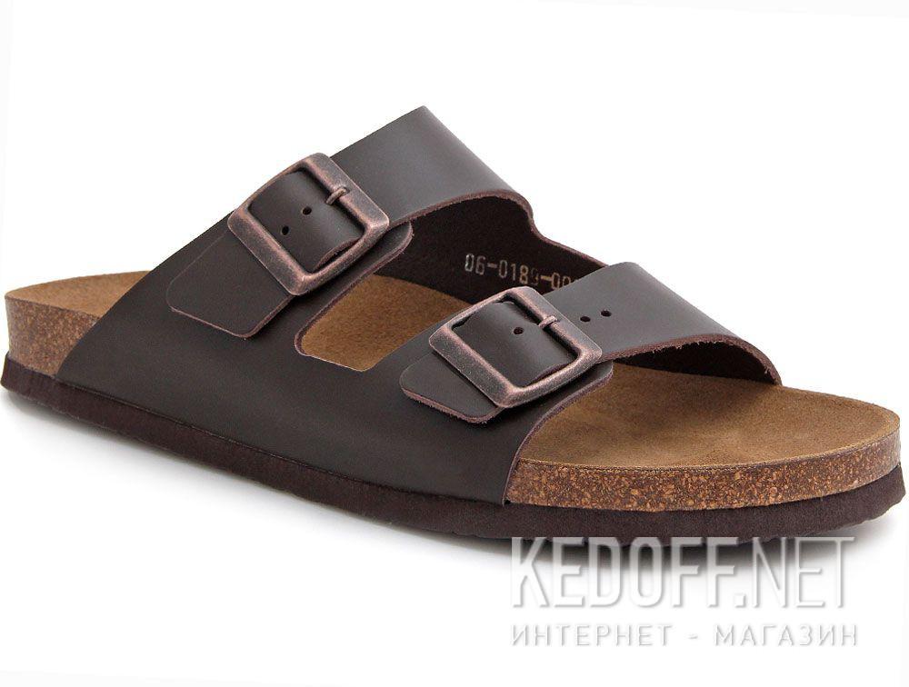 Купить Мужская сандалии Las Espadrillas 06-0189-002   (коричневый)