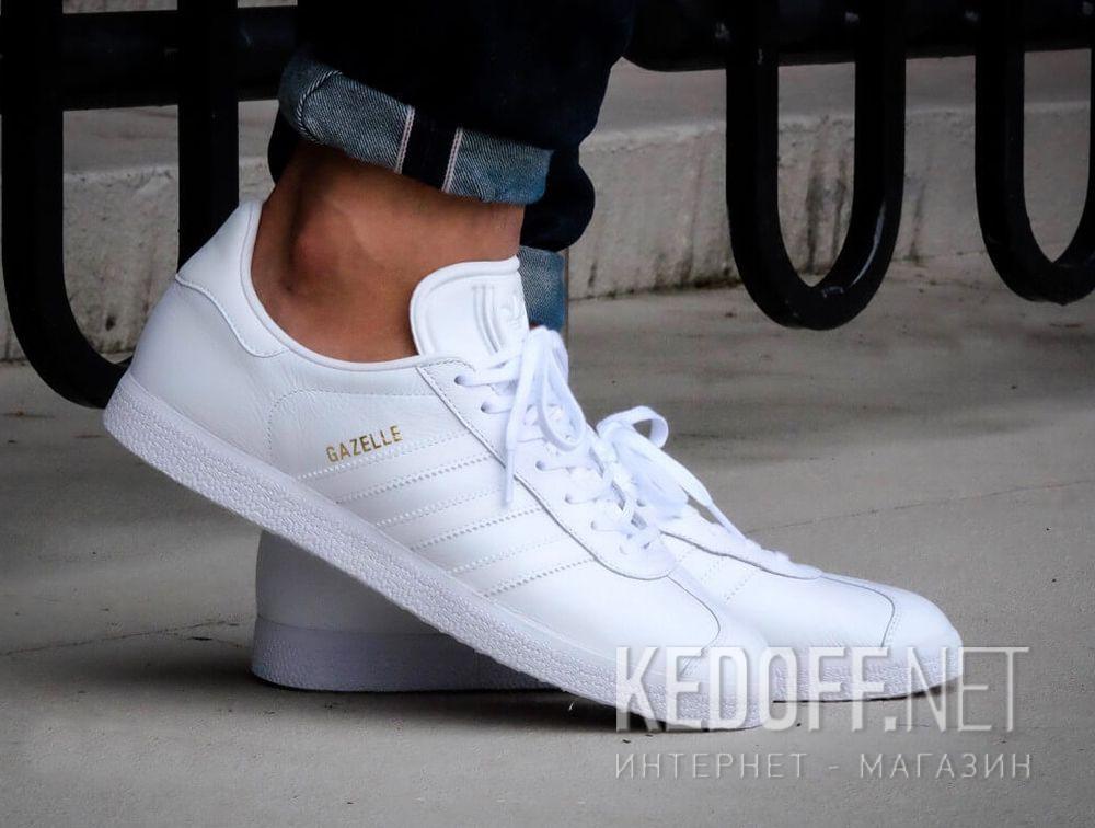 Чоловіче спортивне взуття Adidas Originals Gazelle BB5498 (білий) описание 550255644ff6b