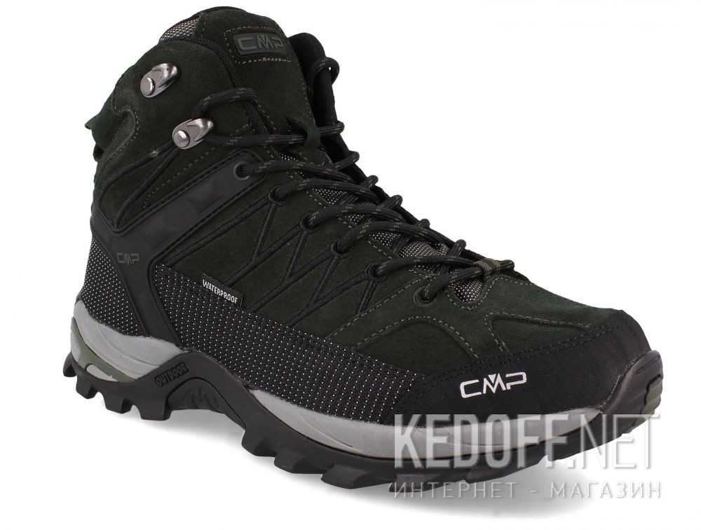 Мужские ботинки CMP Rigel Mid Trekking Shoes Wp 3Q12947-02FD