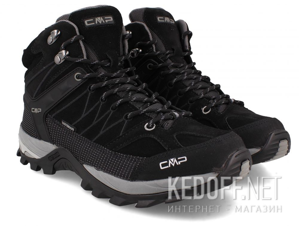 Чоловічі черевики Cmp Rigel Mid Trekking Shoes Wp 3Q12947-73UC все размеры