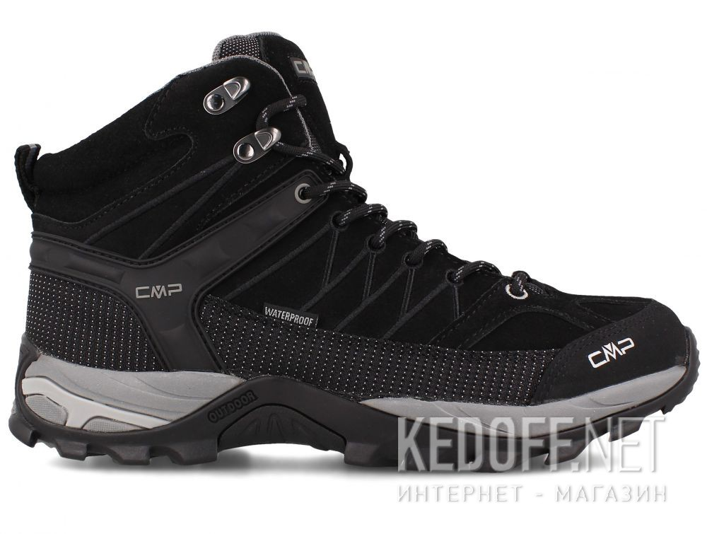 Чоловічі черевики Cmp Rigel Mid Trekking Shoes Wp 3Q12947-73UC купить Киев