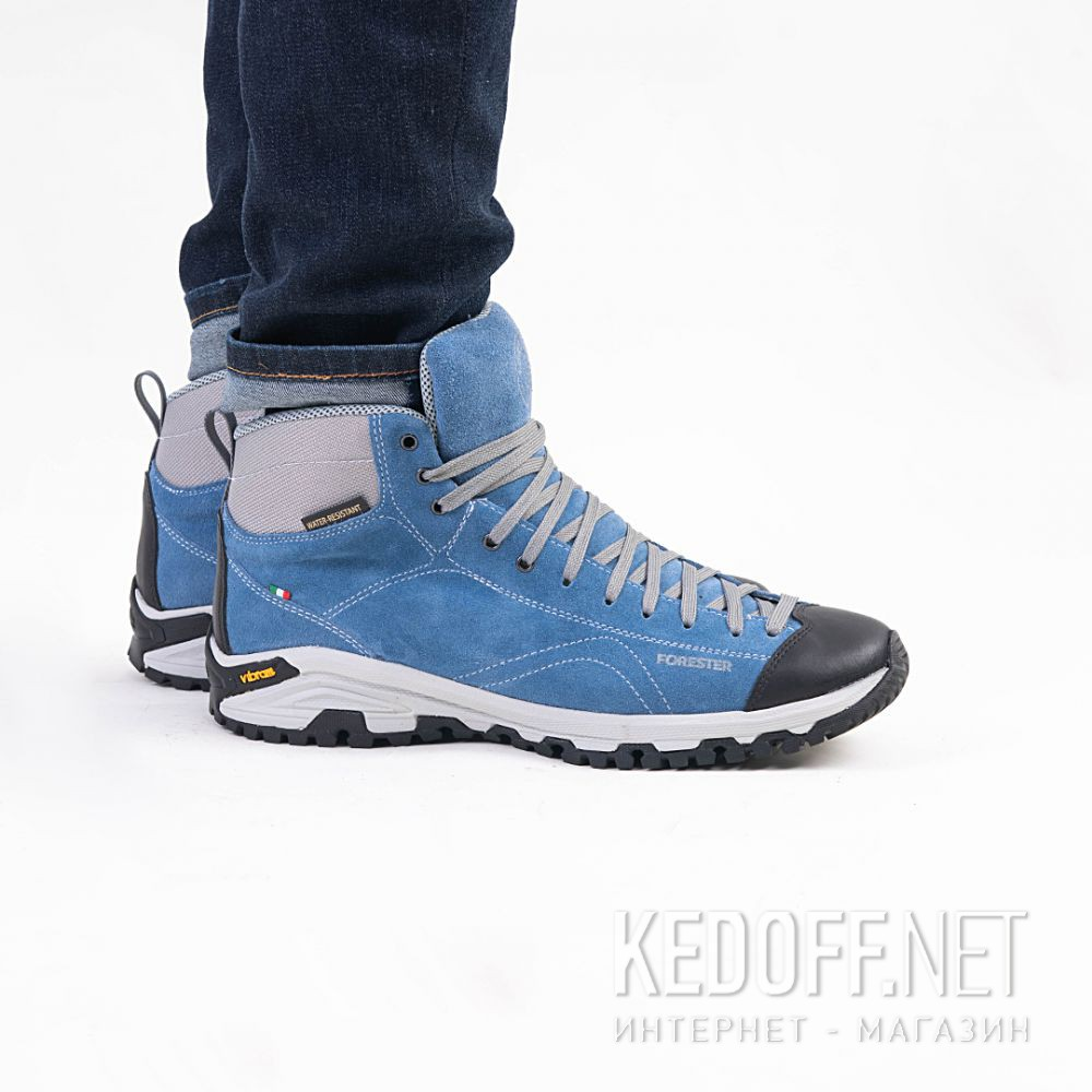Мужские ботинки Forester Jeans Vibram 247951-401 Made in Italy доставка по Украине
