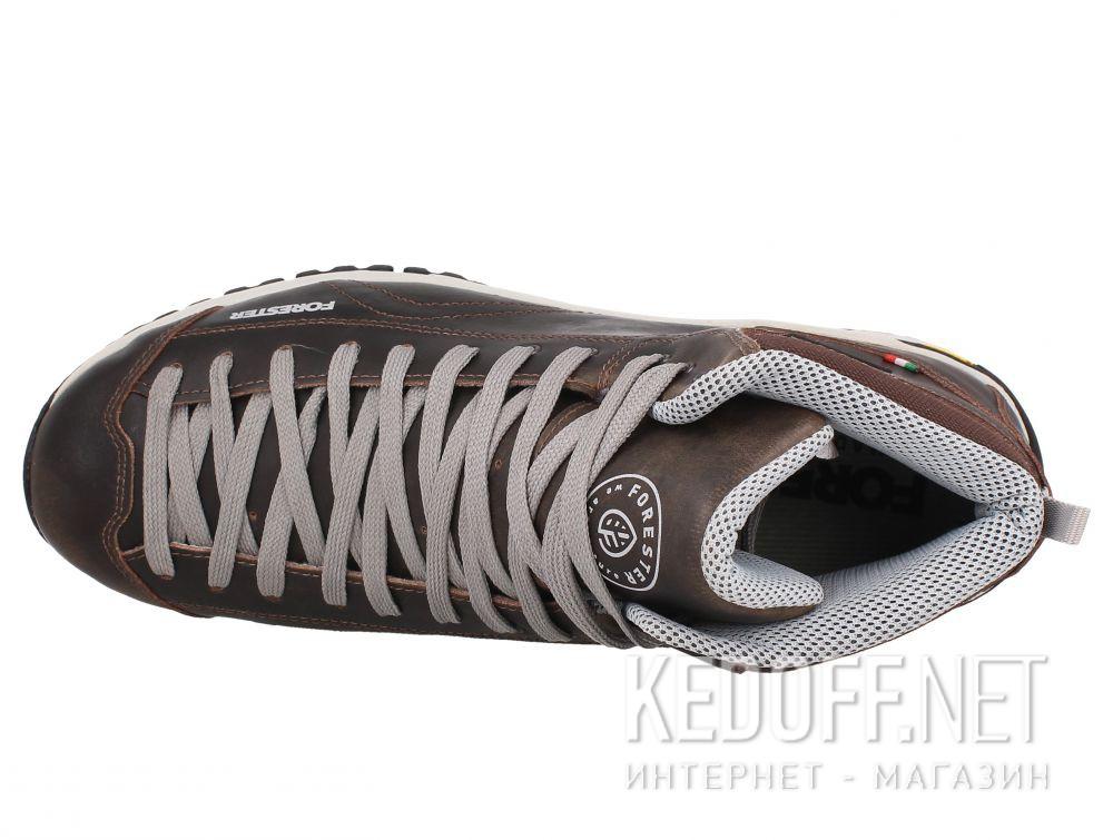 Оригинальные Мужские ботинки Forester Brown Vibram 247951-45 Made in Italy