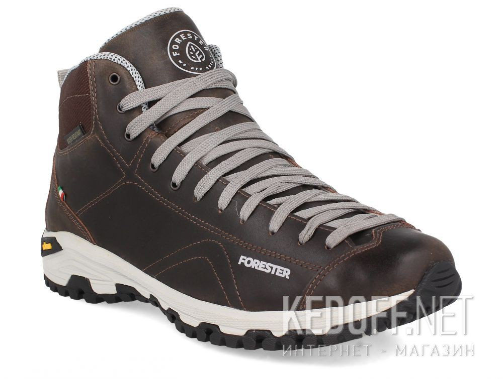 Купить Мужские ботинки Forester Brown Vibram 247951-45 Made in Italy