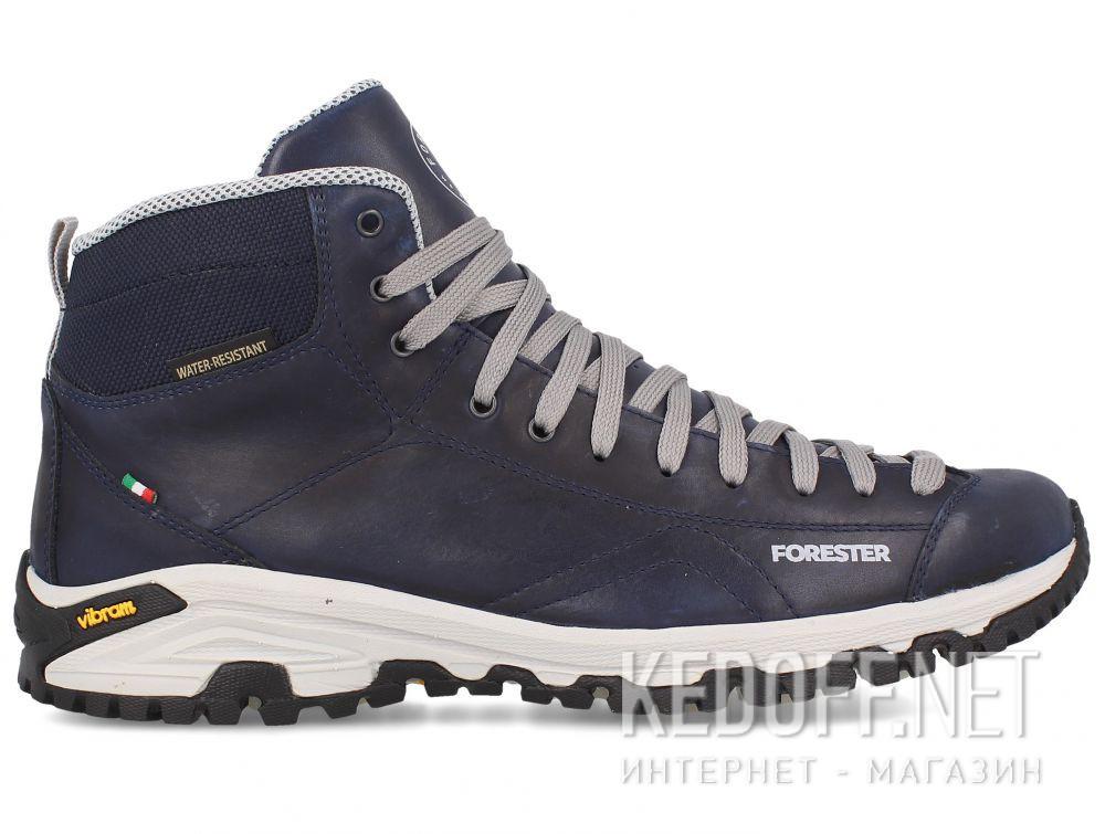 Мужские ботинки Forester Navy Vibram 247951-89 Made in Italy купить Украина