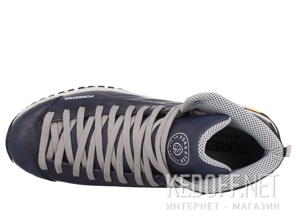 Оригинальные Мужские ботинки Forester Navy Vibram 247951-89 Made in Italy