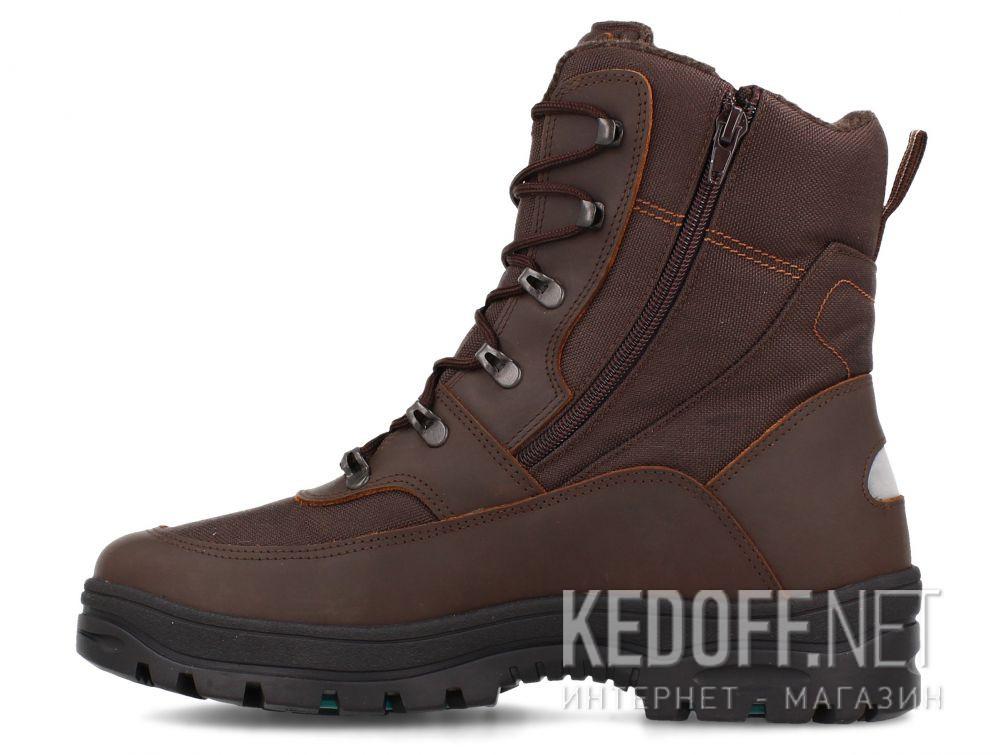 Мужские ботинки Forester OC System Attiba 53631-45 Brown купить Украина