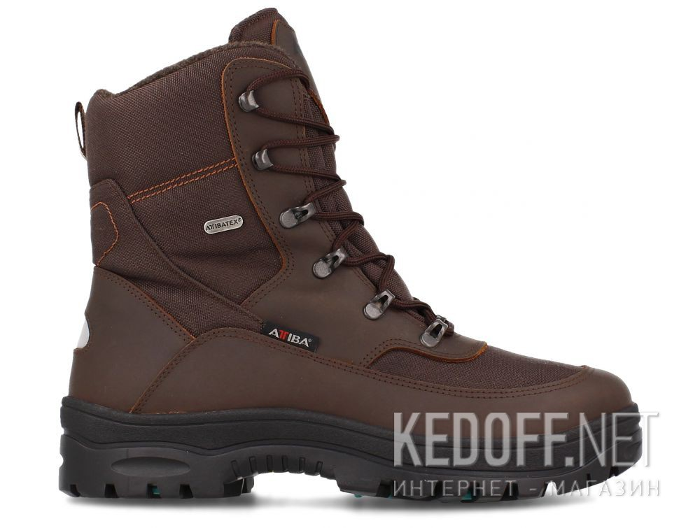 Мужские ботинки Forester OC System Attiba 53631-45 Brown купить Киев