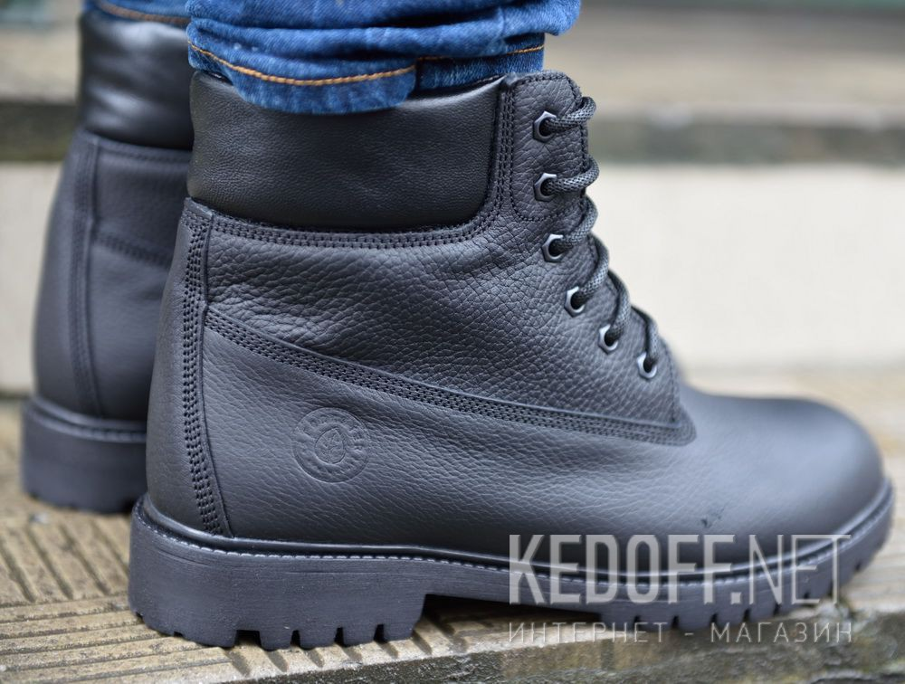 Доставка Мужские ботинки Forester Black Lumberjack 7511-272