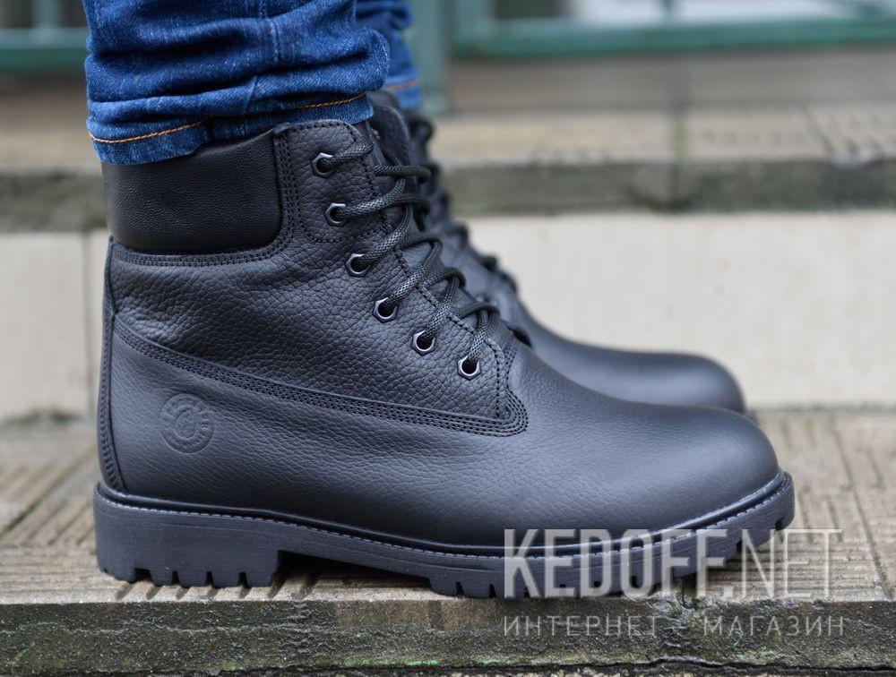 Мужские ботинки Forester Black Lumberjack 7511-272 доставка по Украине