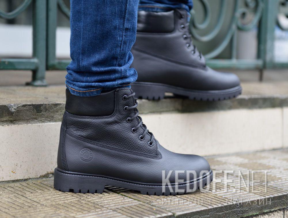 Мужские ботинки Forester Black Lumberjack 7511-272