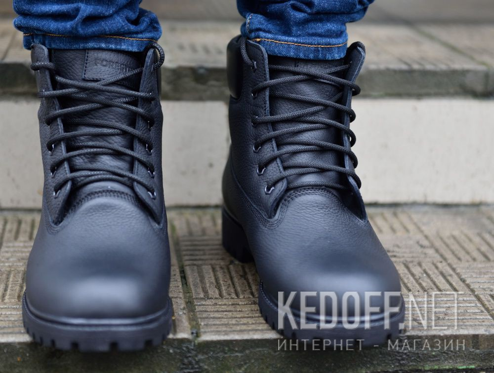 Мужские ботинки Forester Black Lumberjack 7511-272 все размеры