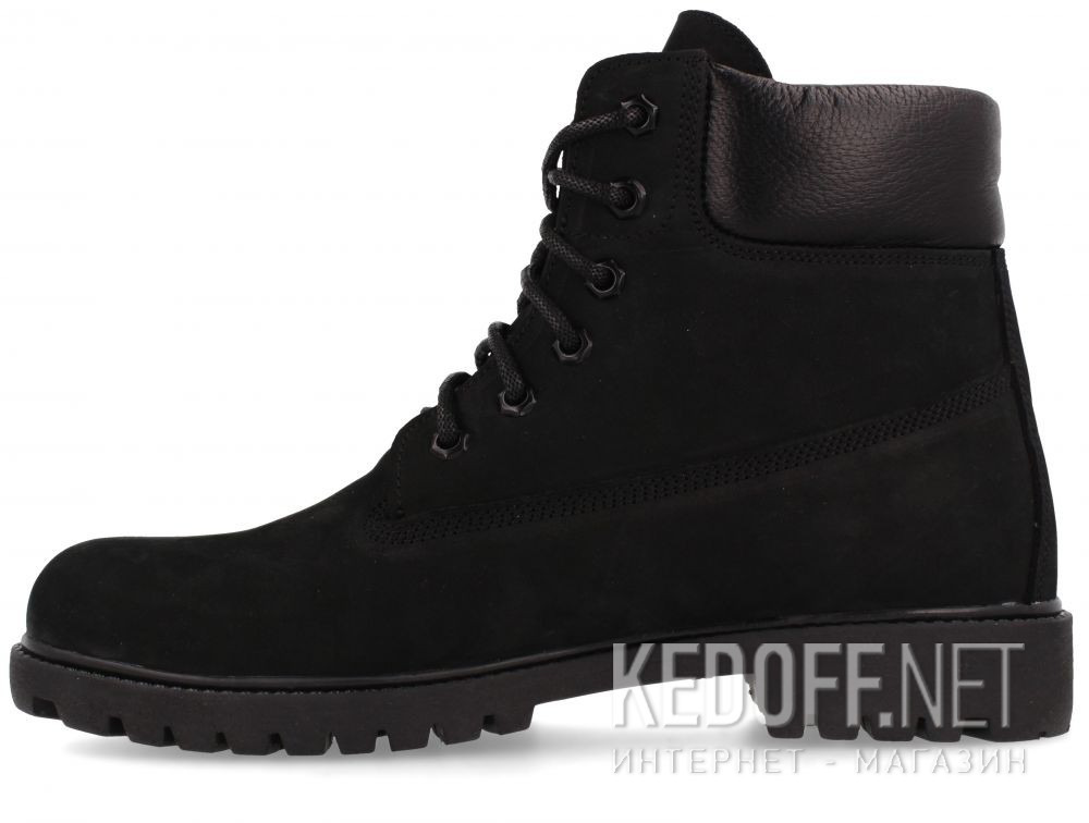 Męskie buty Forester Black Gamp Timber Land 7511-2722  купить Киев