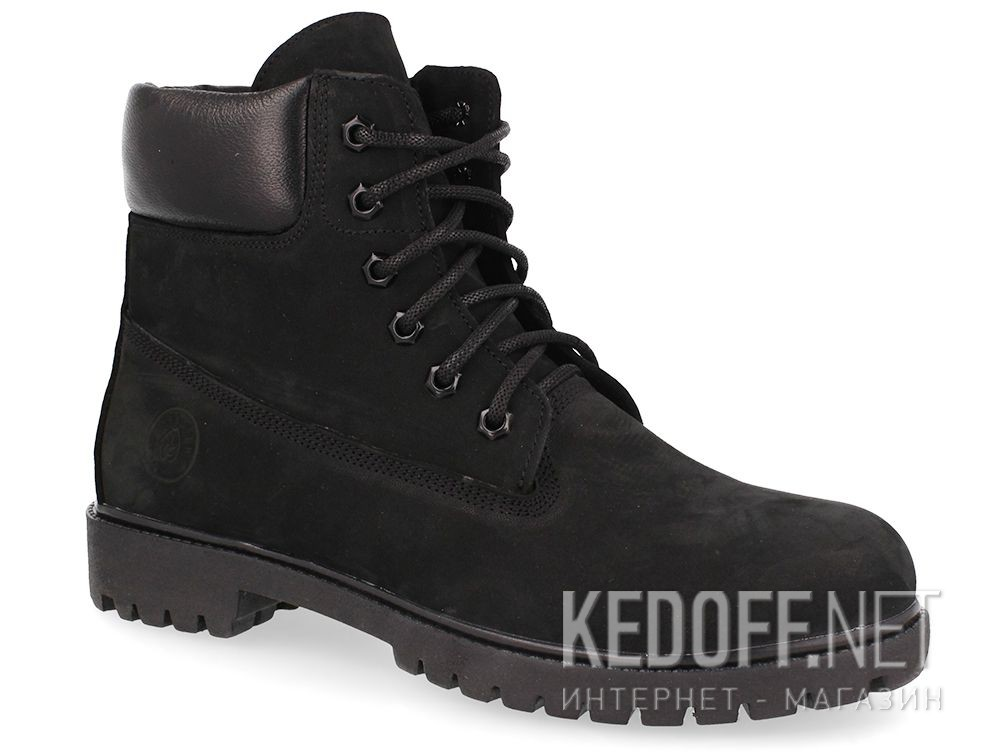 Męskie buty Forester Black Gamp Timber Land 7511-2722