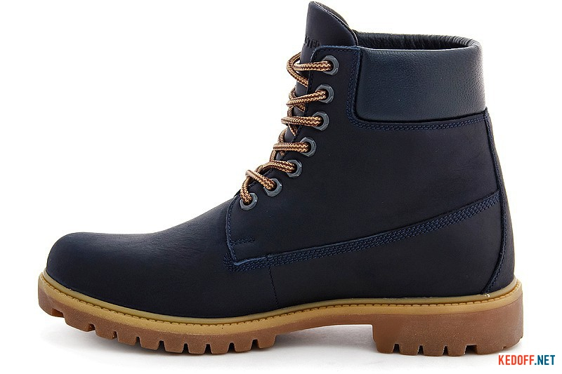 Men's boots Forester Navy Sky7752-155 leather