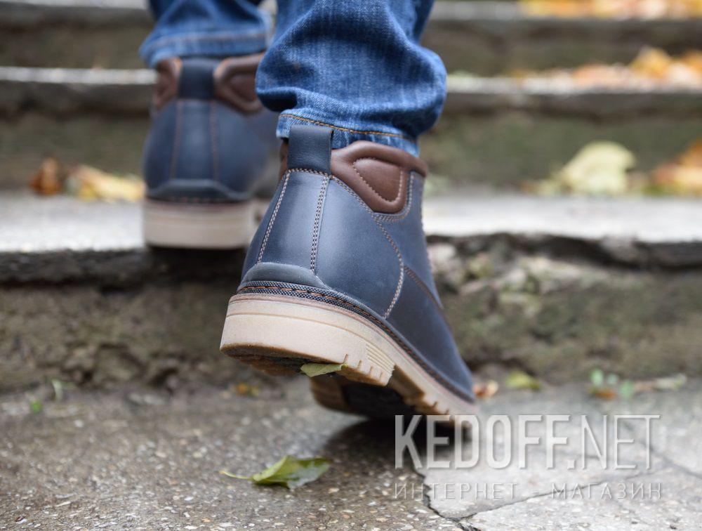 Цены на Мужские ботинки Forester 7757-705   (тёмно-синий)