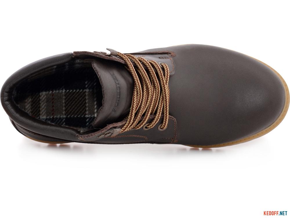 Мужские ботинки на байке Forester Hot Chokolate 77751-177 Коричневая кожа