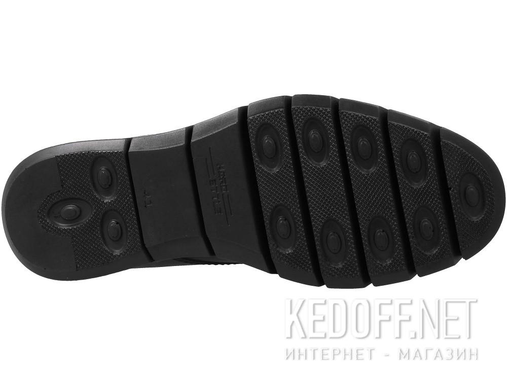 Мужские ботинки Forester 779-27 Черная кожа