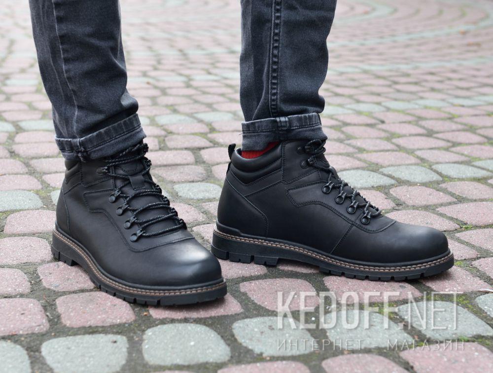 Мужские ботинки Forester Mon Cler 814 Black все размеры