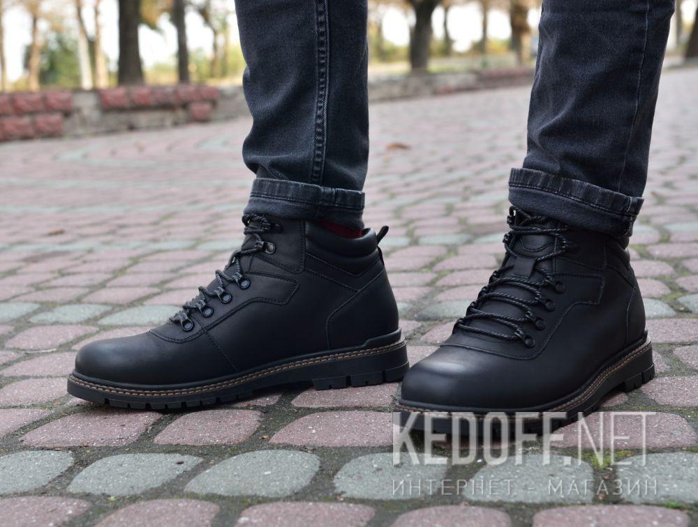 Доставка Мужские ботинки Forester Mon Cler 814 Black