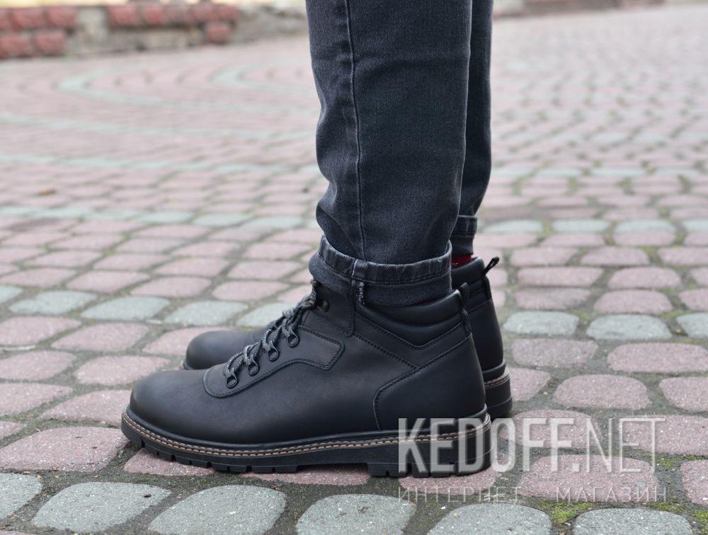 Мужские ботинки Forester Mon Cler 814 Black доставка по Украине