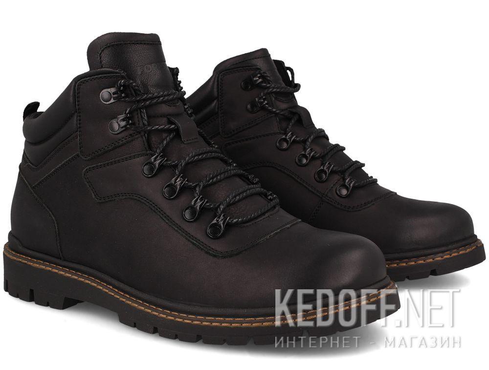 Мужские ботинки Forester Mon Cler 814 Black купить Украина