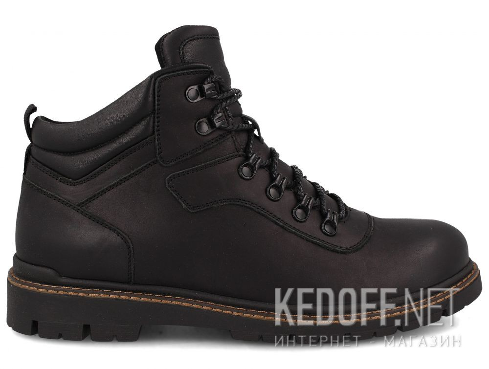 Мужские ботинки Forester Mon Cler 814 Black купить Киев