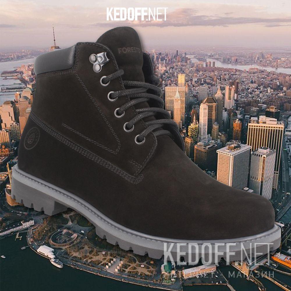 Чоловічі черевики Forester Suede Urbanity 8751-02-27 все размеры