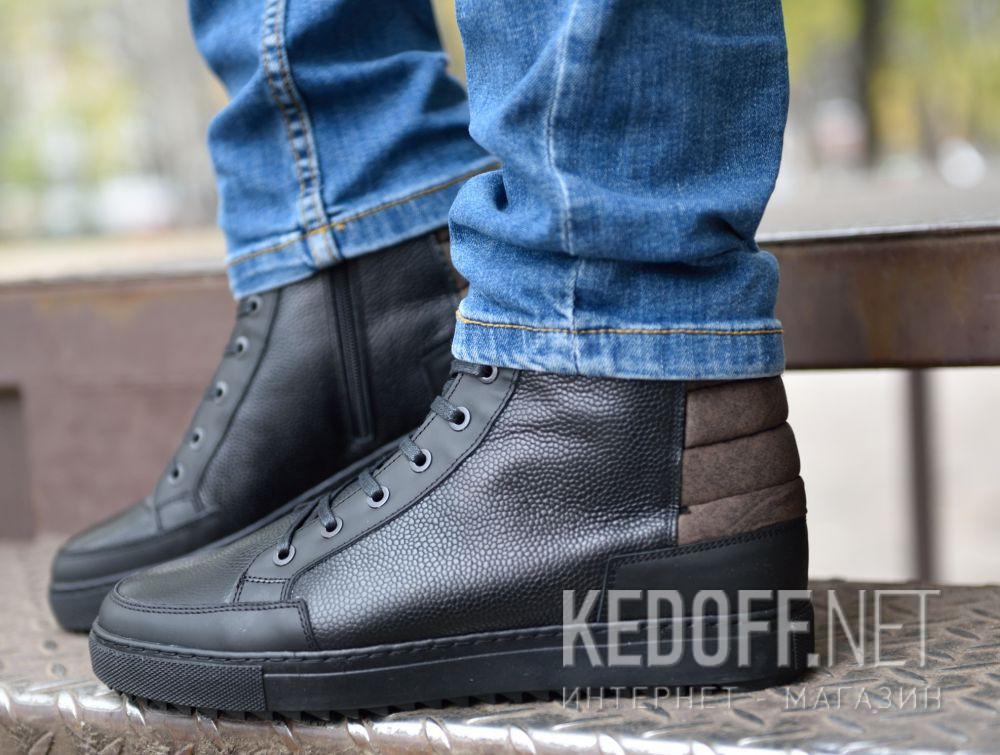 Мужские ботинки Forester 9535-27 доставка по Украине