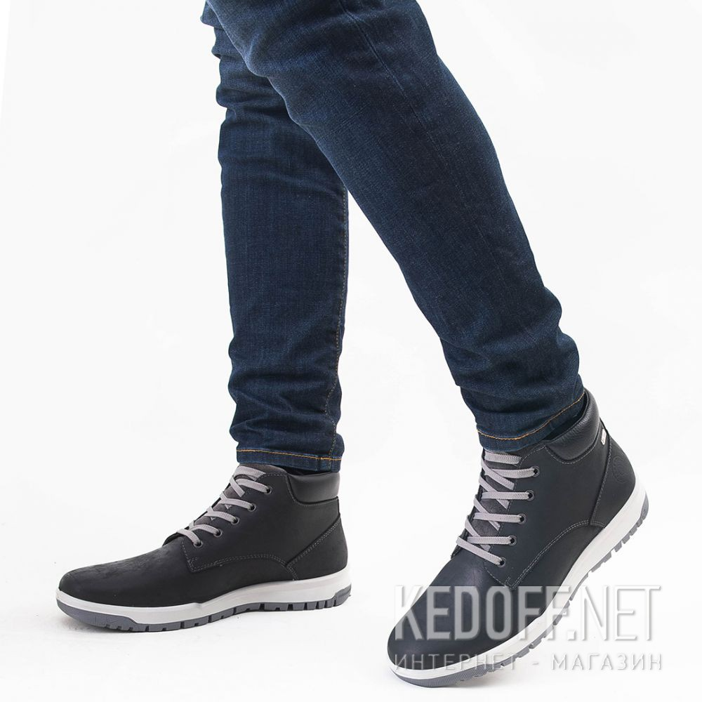 Мужские ботинки Forester Black Camper 4255-30 доставка по Украине