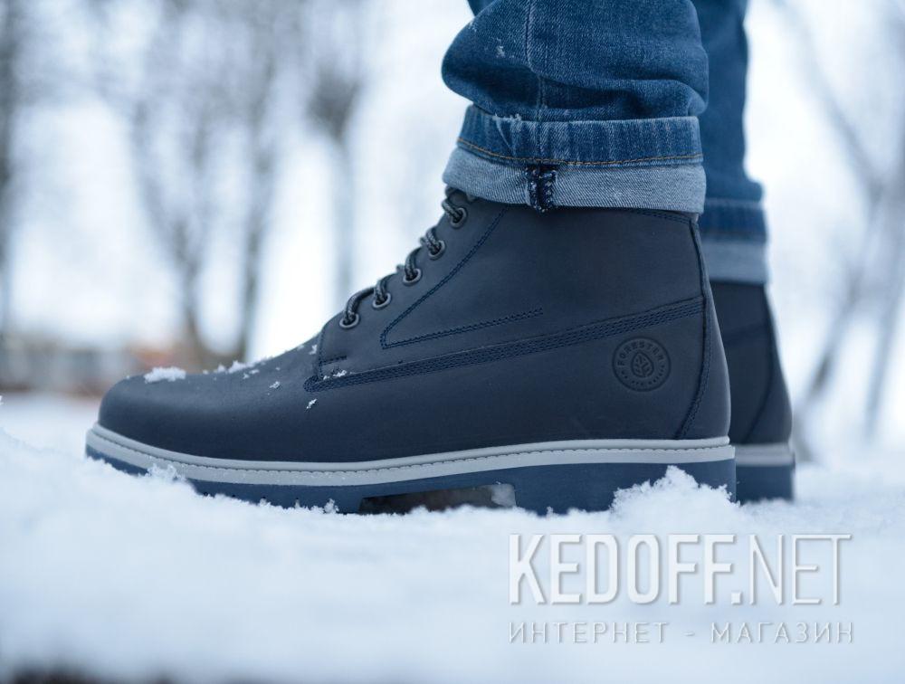 Мужские ботинки Forester Blu Marine 85751-005 все размеры