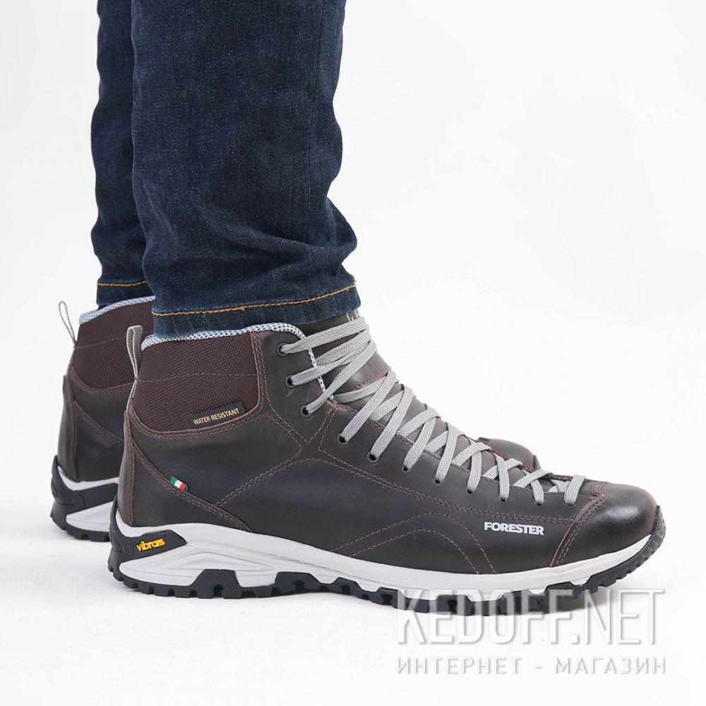 Цены на Мужские ботинки Forester Brown Vibram 247951-45 Made in Italy