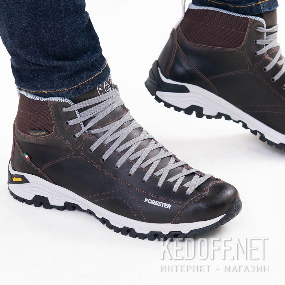 Мужские ботинки Forester Brown Vibram 247951-45 Made in Italy все размеры