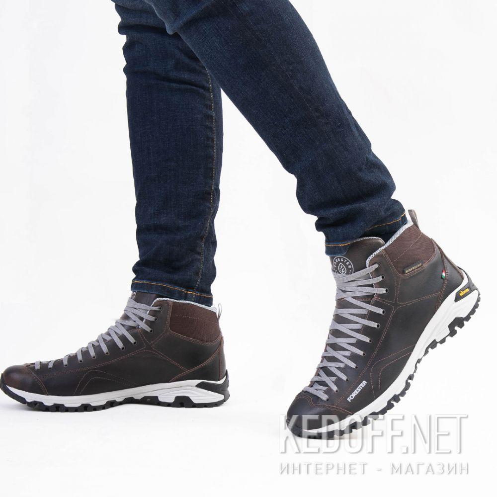 Доставка Мужские ботинки Forester Brown Vibram 247951-45 Made in Italy