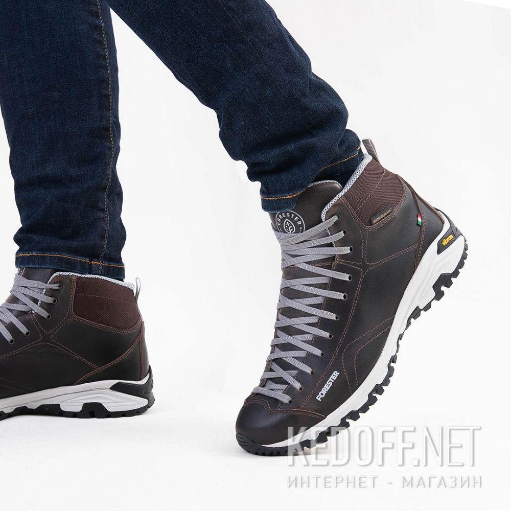 Мужские ботинки Forester Brown Vibram 247951-45 Made in Italy доставка по Украине