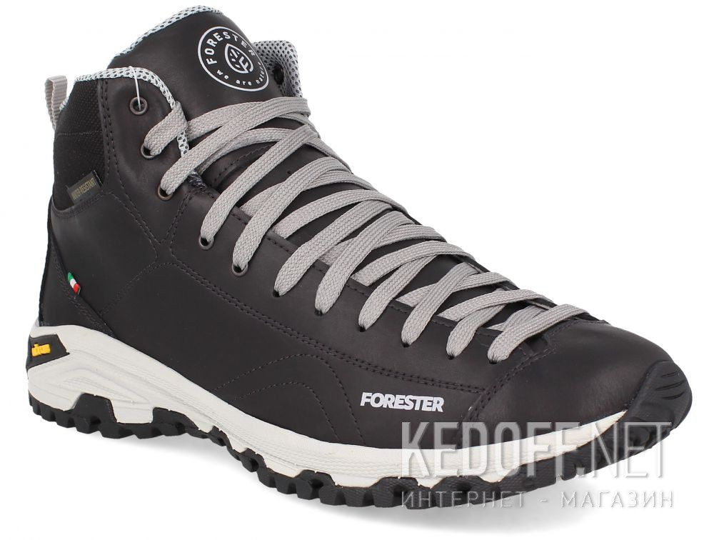 Мужские ботинки Forester Black Vibram 247951-27 Made in Italy