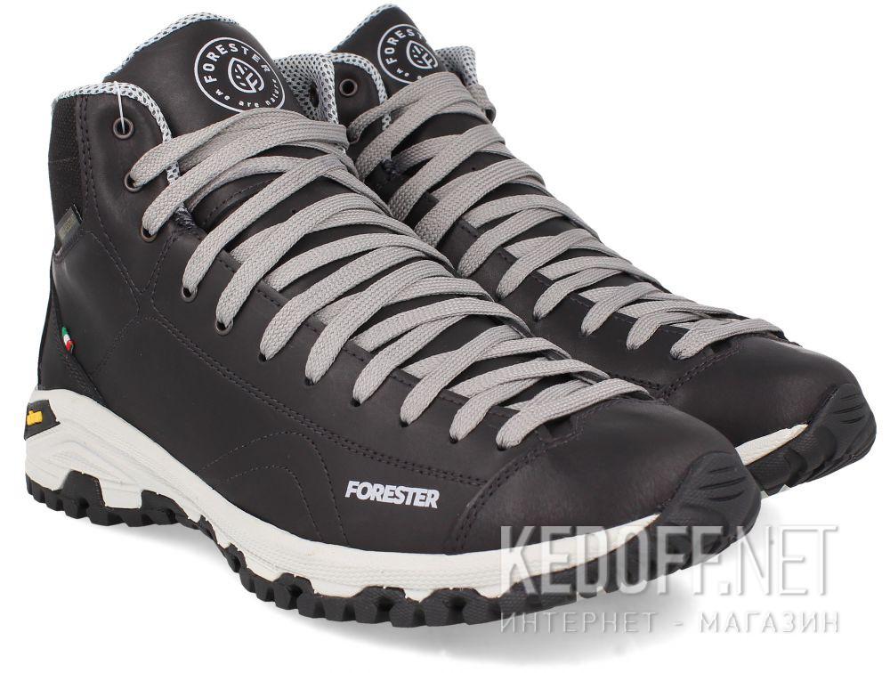 Мужские ботинки Forester Black Vibram 247951-27 Made in Italy все размеры