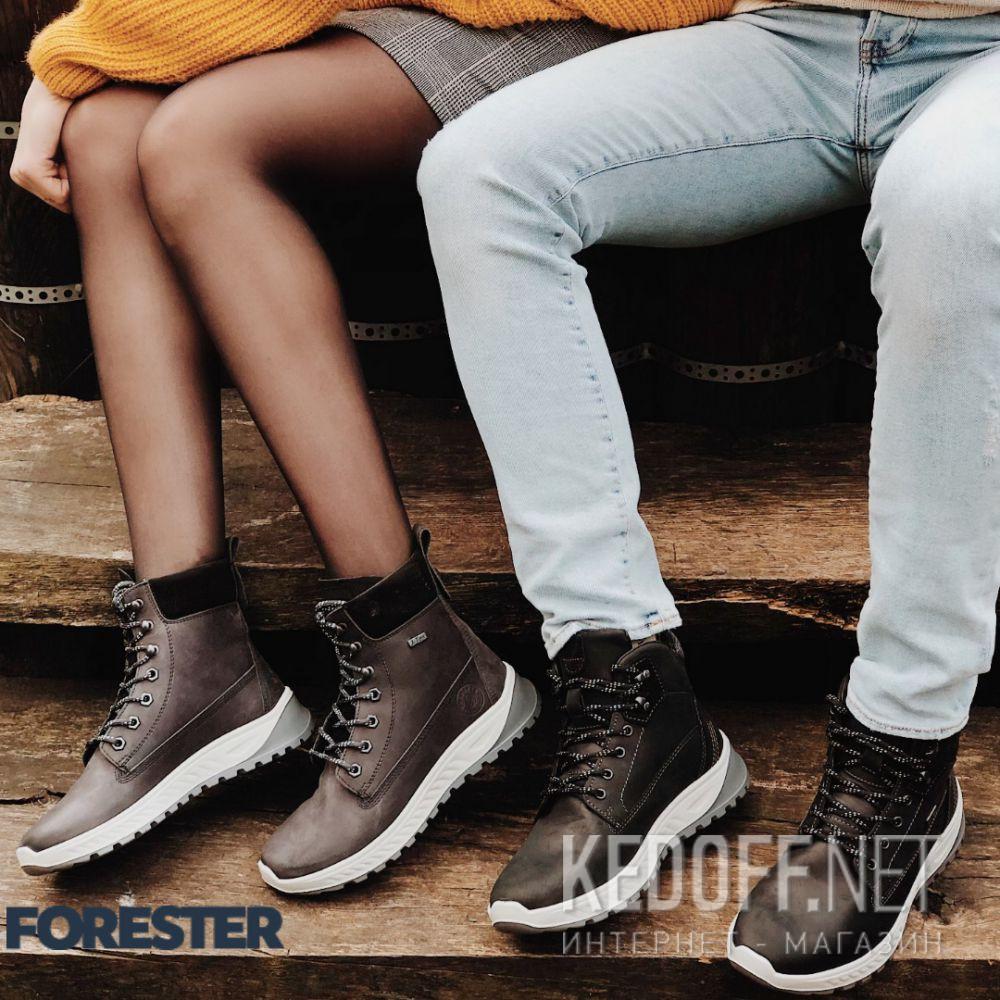 Мужские ботинки Forester Ergostrike 18303-27 доставка по Украине