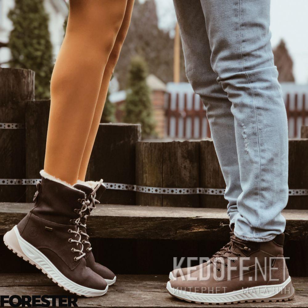 Мужские ботинки Forester Ergostrike 18303-45 доставка по Украине