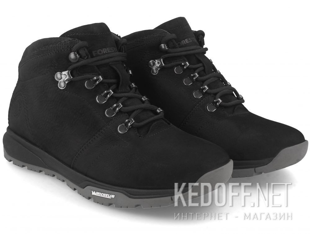 Чоловічі черевики Forester Michelin 43566-271 купити Україна