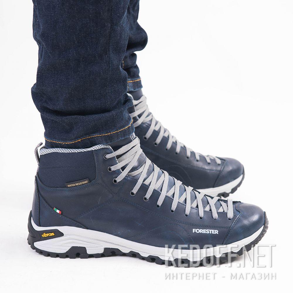 Мужские ботинки Forester Navy Vibram 247951-89 Made in Italy все размеры
