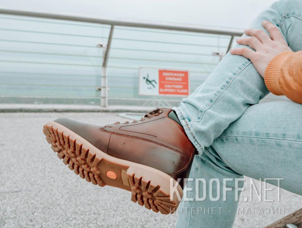 Мужские ботинки Forester Urbanitas 7751-144 доставка по Украине