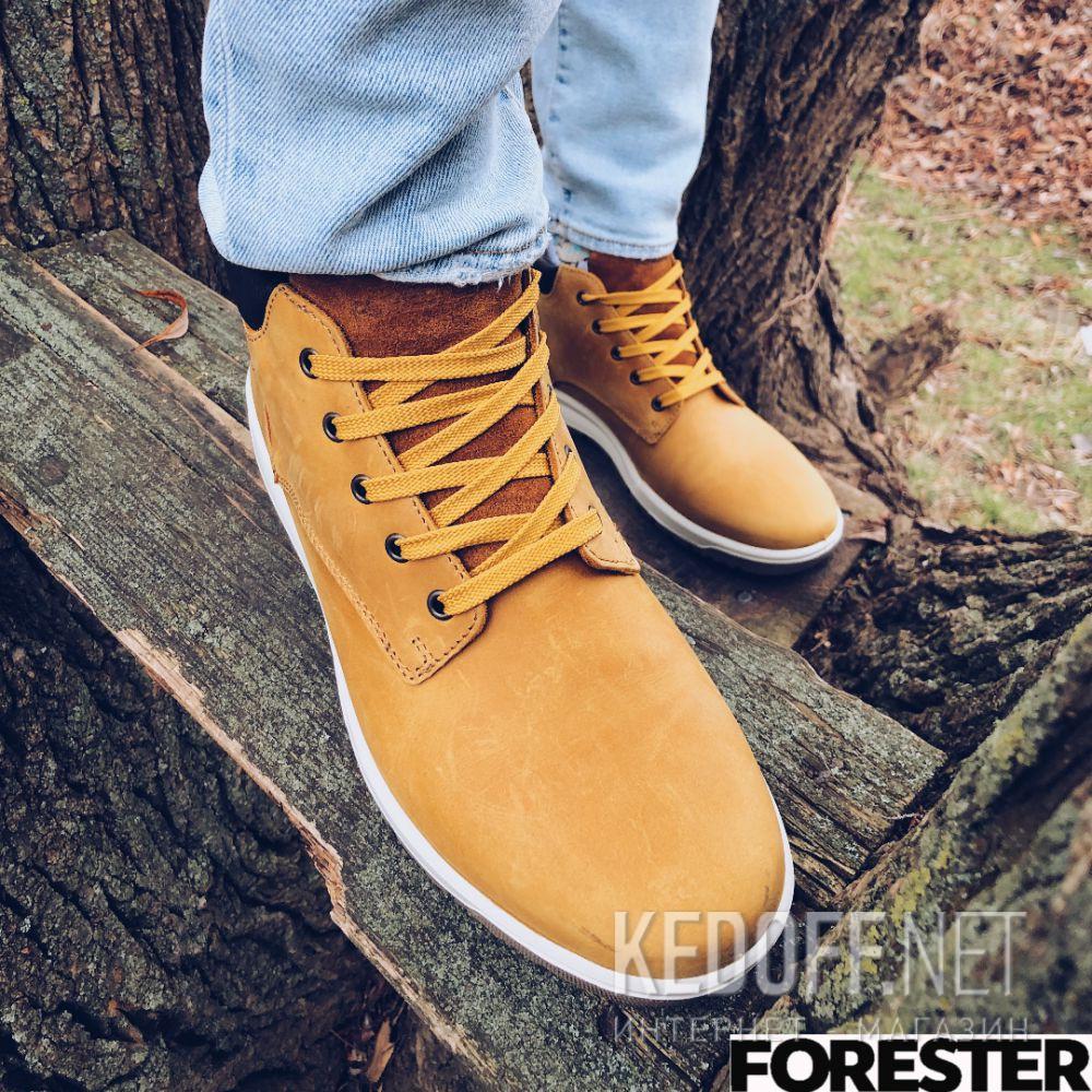 Мужские ботинки Forester Yellow Camper 4255-29 доставка по Украине
