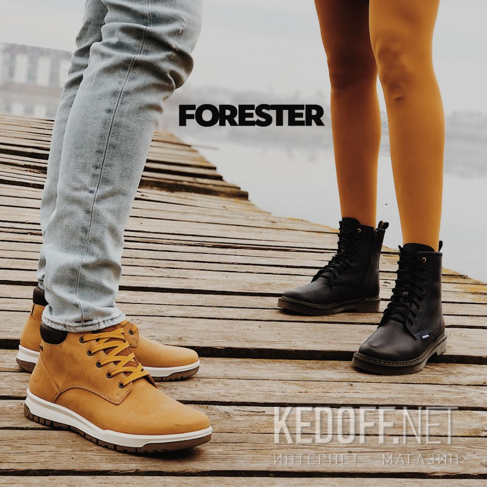 Мужские ботинки Forester Yellow Camper 4255-29