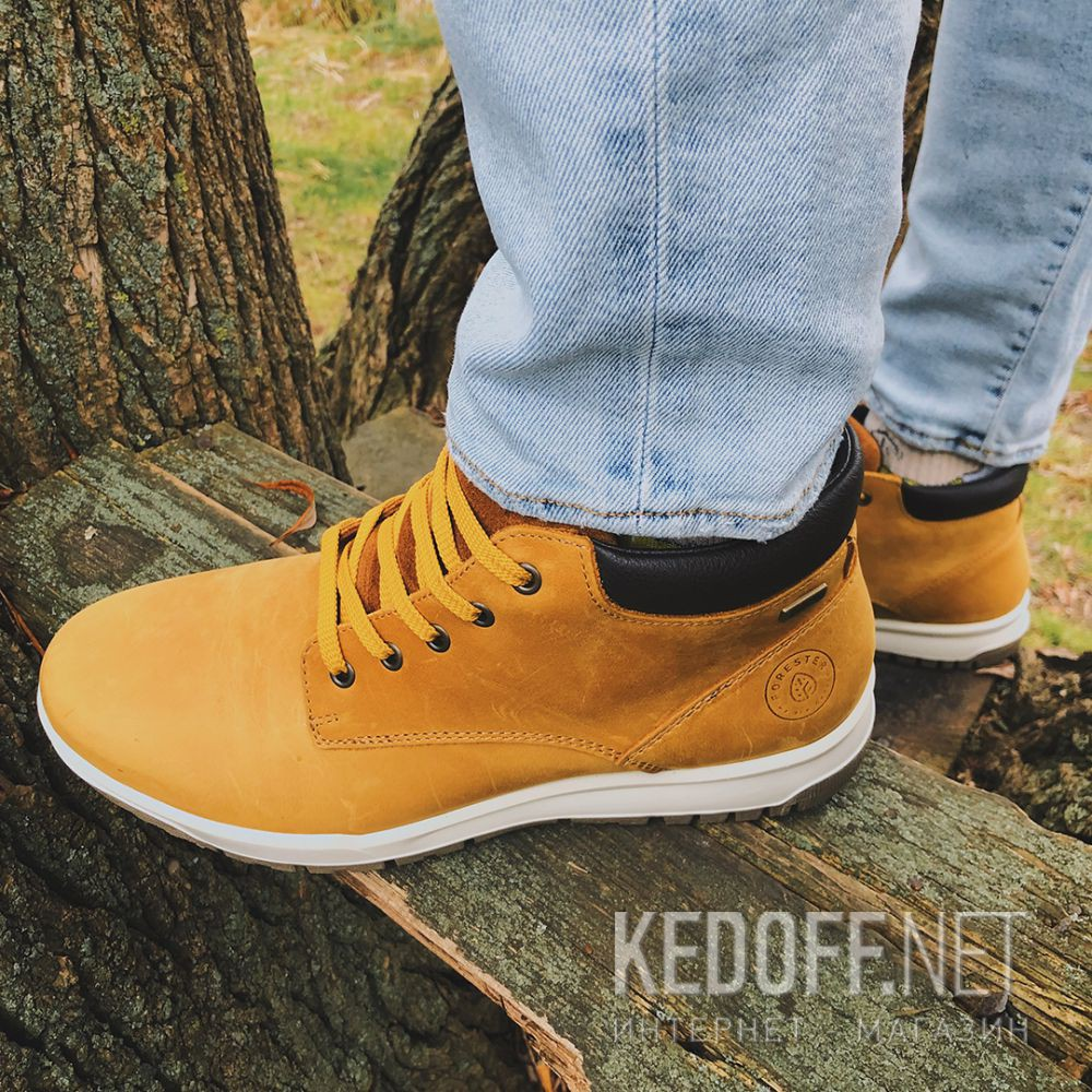 Доставка Мужские ботинки Forester Yellow Camper 4255-29