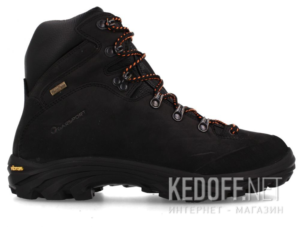 Мужские ботинки Garsport 2018 Wp Nero 1060003-0003 Vibram купить Киев