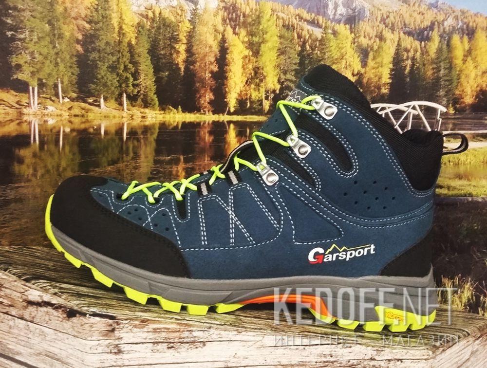 Доставка Мужские ботинки GarSport Fast Trek Tex Blu 1040001-0025 Vibram