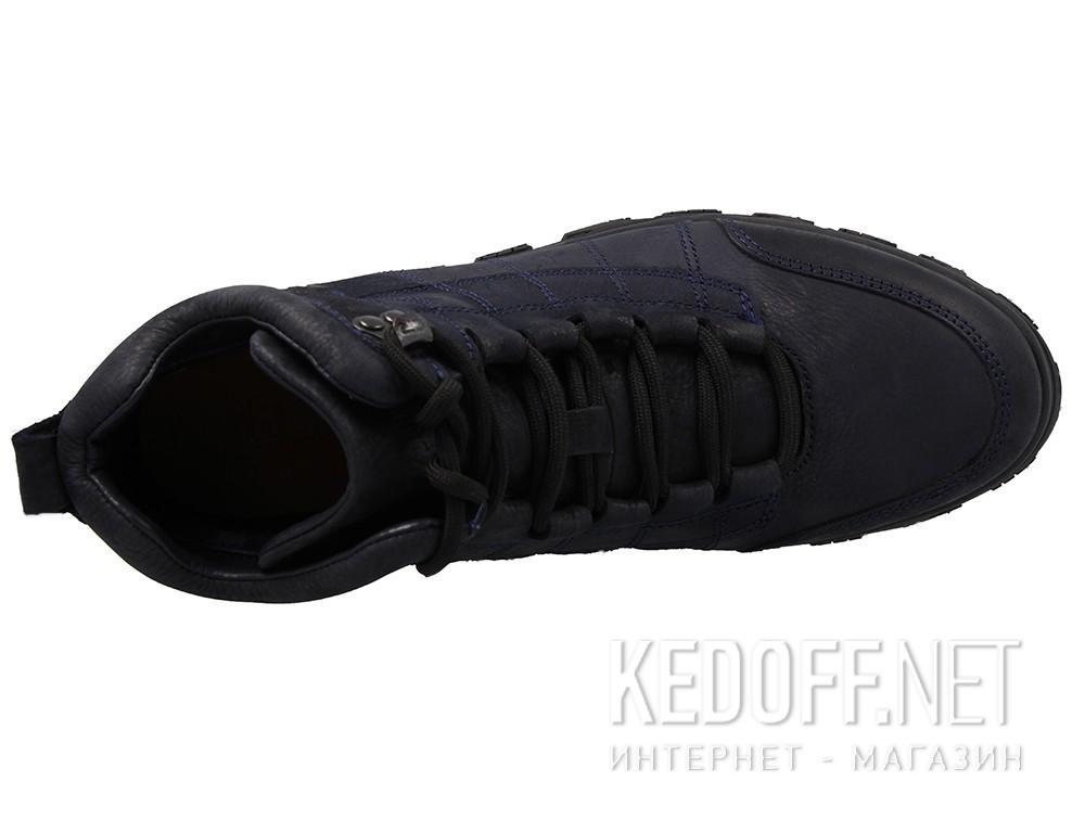 Мужские ботинки Greyder Comfort 11650-072 Темносиняя кожа крейзи